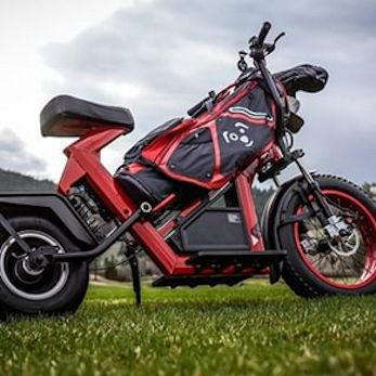 Red Finn Electric Golf Scooter