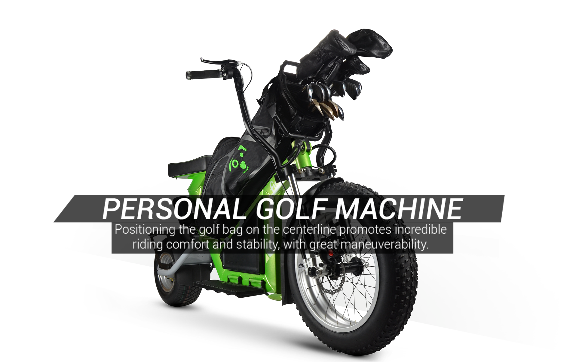 Finn Single Rider Golf Cycle is a Personal Golf Machine